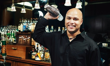 Bartending Courses from Professional Bartenders School (Up to 75% Off). Four Options Available.