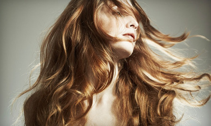 The Lather Lounge - The Lather Lounge: $49 for a Salon Package at The Lather Lounge (Up to $110 Value)
