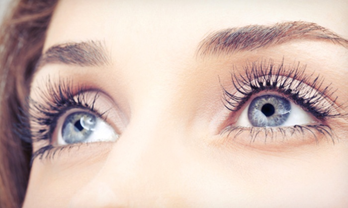 The Lash Lounge - Watters Creek At Montgomery Farm: Mascara Look or Dramatic Look Eyelash Extensions at The Lash Lounge (Up to 56% Off)