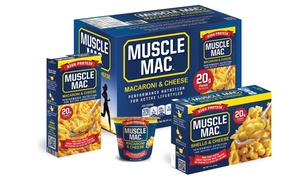 Muscle Mac High-Protein Macaroni and Cheese