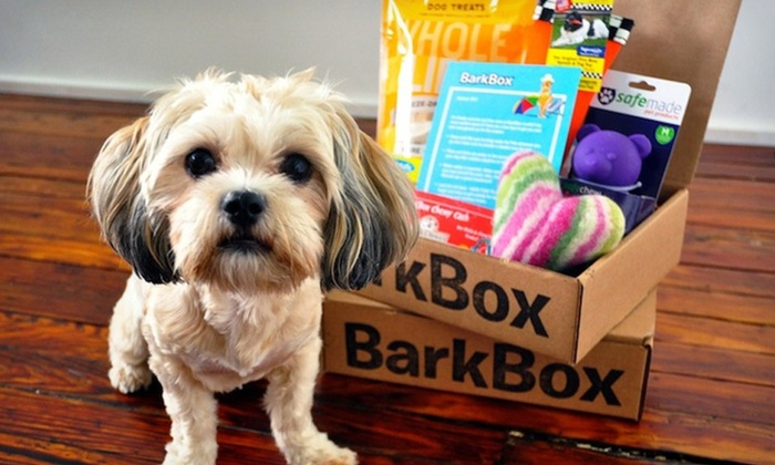 BarkBox Monthly Delivery of Dog Goodies: $19.99 for a One-Month Trial Subscription for Dog Goodies from BarkBox ($29 List Price). Free Shipping.