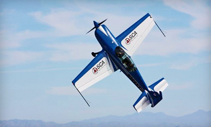 Sky Combat Ace - Las Vegas: $229 for an Afterburner Flight with Flight-Museum Entry from Sky Combat Ace ($399 Value)