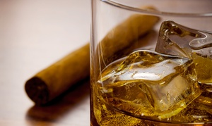The Vernon Club: One-Hour Bourbon Class with Optional Cigar Pairings for Two or Four at The Vernon Club (Up to 56% Off)