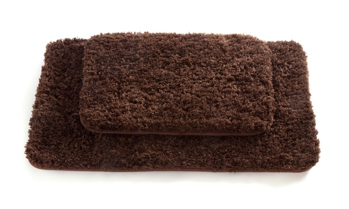Spa Couture Memory Foam Rug Set Groupon Goods