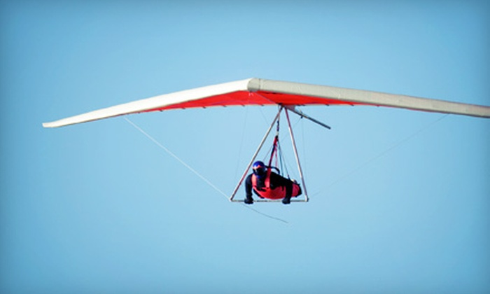Fly Texas - Granite Shoals : Introductory Hang-Gliding Lesson for One or Two at Fly Texas in Luling (Up to 54% Off)
