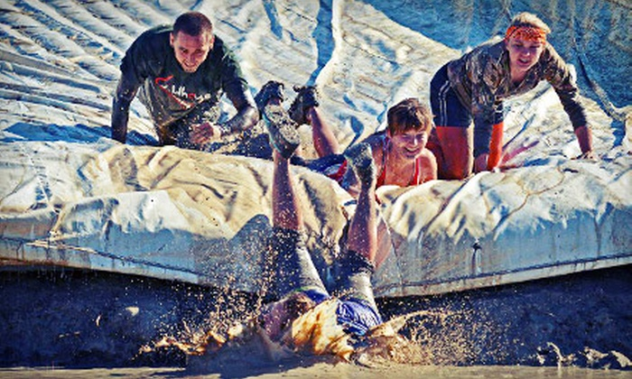 Survivor Mud Run - Remlinger Farms: Survivor Mud Run with T-shirt, Race Bib, and Postrace Refreshments for One or Two on Saturday, June 8 (Up to 53% Off)