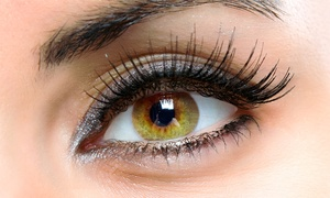 ID Salon: Full Set of Eyelash Extensions from £22 at ID Salon (66% Off)