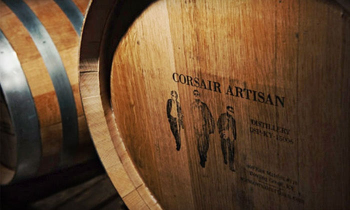 Corsair Artisan - Corsair Artisan: Distillery Tour for One or Two with Glass, T-shirt, and Tastings at Corsair Artisan (Up to 60% Off)