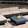Santa Maria 6-Piece Outdoor Wicker Sofa Set