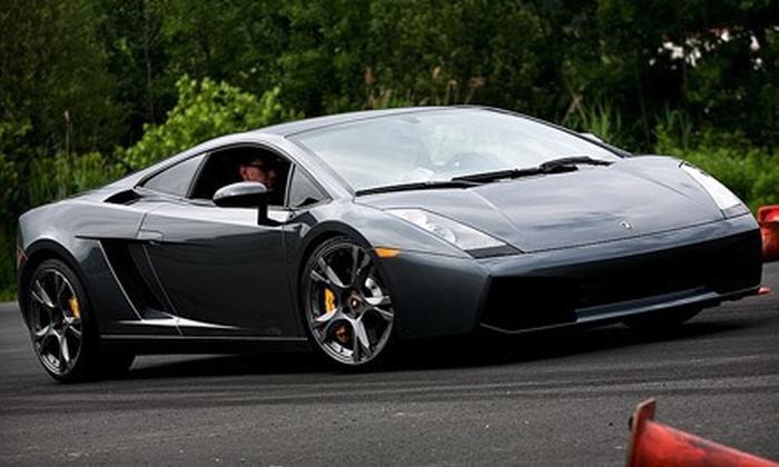 Gotham Dream Cars - Miller Park: $99 for a High-Speed Drive in a Ferrari or Lamborghini from Gotham Dream Cars ($249 Value)