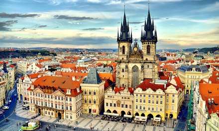 Prague: 1 to 4 Nights for Two with Breakfast, Wine, Sauna Entry and Late Check-Out at 4* Absolutum Boutique Hotel