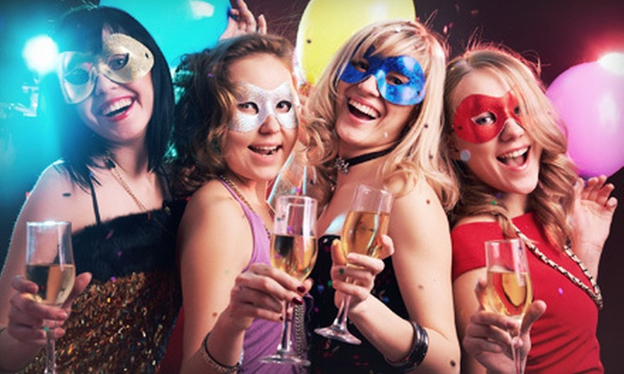 New Year's Eve Rhode Island - Downtown Providence: VIP Lights! or VIP Superstar! Masquerade Ball Party on December 31 from New Year's Eve Rhode Island (Up to 67% Off)