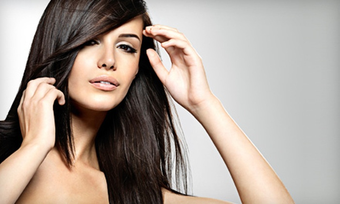 Smooth Body Spa & Salon - Sayville: Haircut and Blow-Dry with Optional Color, or Three Blowouts with Conditioning at Smooth Body Spa & Salon (Up to 61% Off)