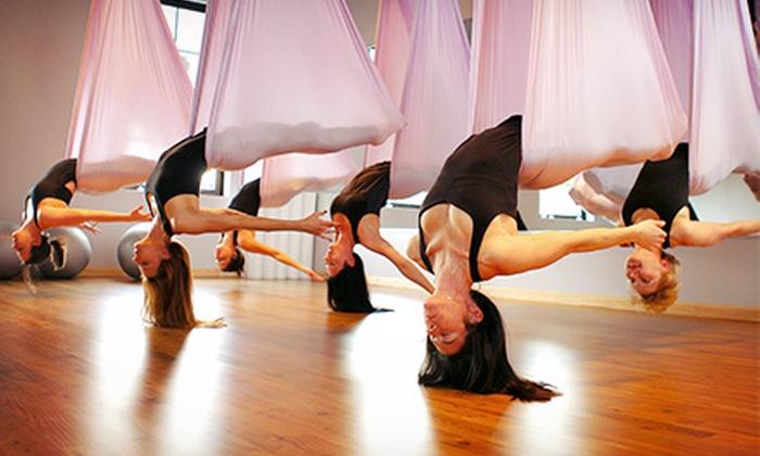 Vita-Prana Yoga Studio - Vinings: 10 or 20 Mat and Aerial Yoga Classes at Vita-Prana Yoga Studio (Up to 83% Off)