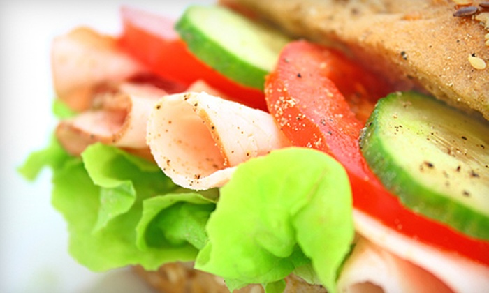 The Deli Guy - West Orange: Three or Five Groupons, Each Good for $10 Worth of Clubs, Salads, and Hot Sandwiches at The Deli Guy