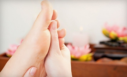 Acupressure Treatments with Reflexology or Hot Stones at Total Release (Up to 55% Off). Two Options Available.