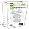 2-Tier Corner Organizer for Cabinets