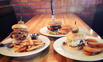 Barbecue, Burgers, and More at Whiskey Rose Saloon (Half Off)