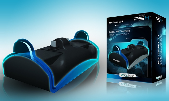 DreamGear Dual Dock Charger for PS4: DreamGear Dual Dock Charger for PS4. Free Returns.