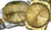 August Steiner Men's Diamond Bracelet Watch: August Steiner Men's Diamond Bracelet Watch. Multiple Colors Available.