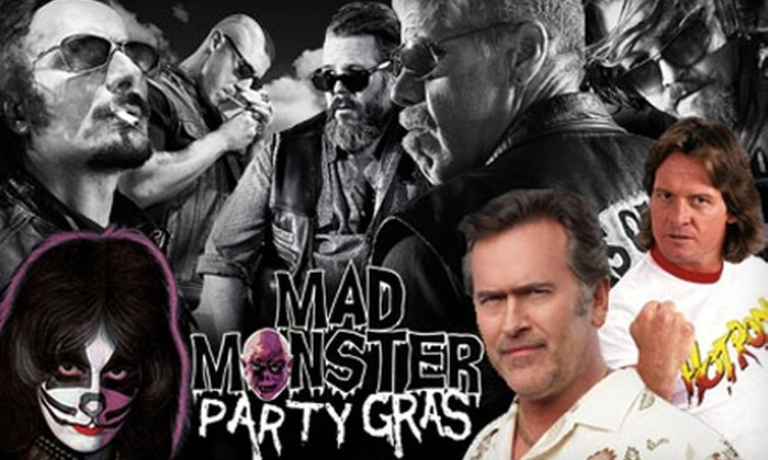 Mad Monster Party - Central Business District: One-Day Outing to Mad Monster Party Gras for One, Two, or Four, or a Three-Day Pass for Two (Up to 68% Off)
