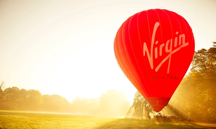 virgin Balloons: Virgin Balloon Flight With Champagne from £89 (up to 52% off)