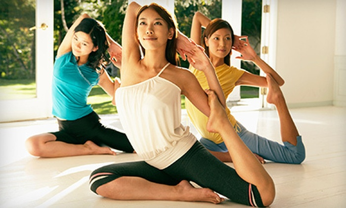 River Heights Yoga - Winnipeg: $49 for 10 Women's Yoga Classes at River Heights Yoga ($115 Value). Two Sessions Available.