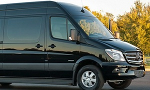 Sterling Luxury Transportation: 3- or 6-Hour Mercedes Sprinter Ride or Airport Transport for 12 from Sterling Luxury Transportation (63% Off)