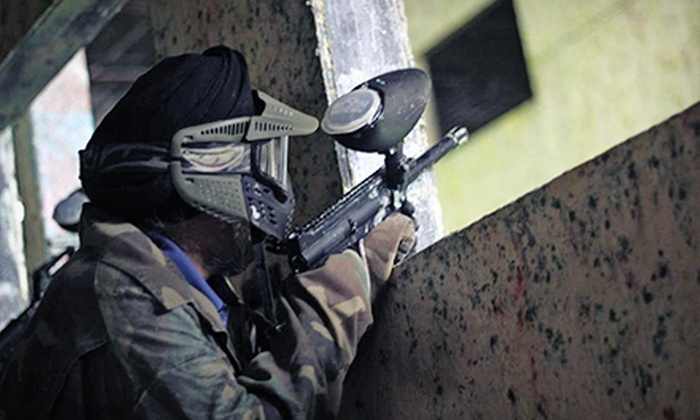 Richmond Indoor Paintball - Richmond City Centre: Paintball Package for 1, 2, 4, or 10 with Gear and Paintballs at Richmond Indoor Paintball (Up to 60% Off)