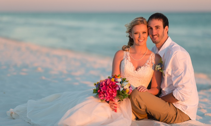 J. Aaron Rhodes Photography - Pensacola / Emerald Coast: 180-Minute Wedding Photography Package with Digital Images from J Aaron Rhodes Photography (45% Off)