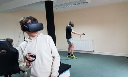 image for 60-Minute Virtual Reality Session for Two or Four at Vorteka Virtual Realities (40% Off)
