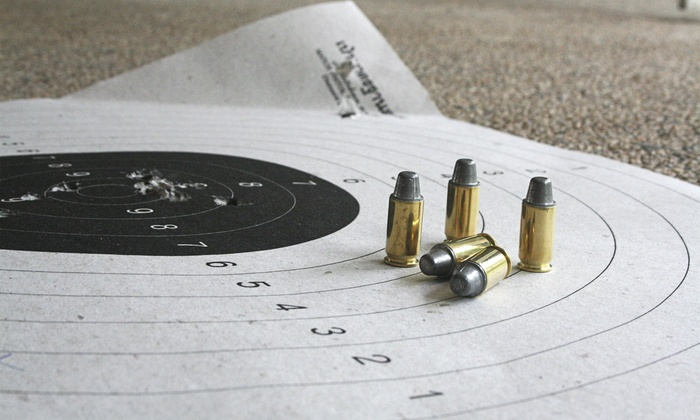 Guns & Leather Shooting Academy - Multiple Locations: Beginner Pistol Crash Course for One, Two, or Four at Guns & Leather Shooting Academy (Up to 53% Off)