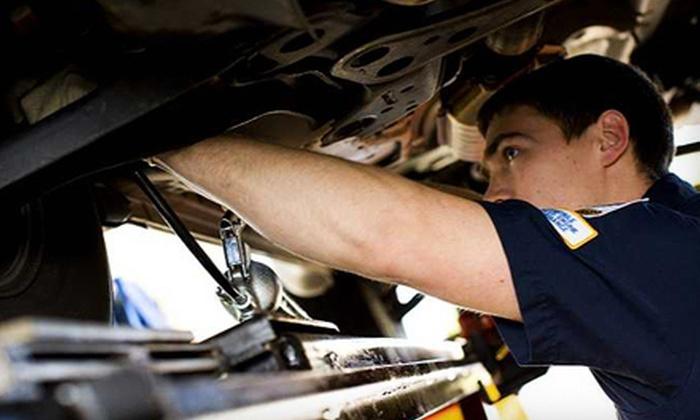 Sharps' NAPA Autopro - St Catharines: Summer Service Package with Oil Change, Tire Rotation, and Inspections, or Wheel Alignment at Sharps' NAPA Autopro (51% Off)