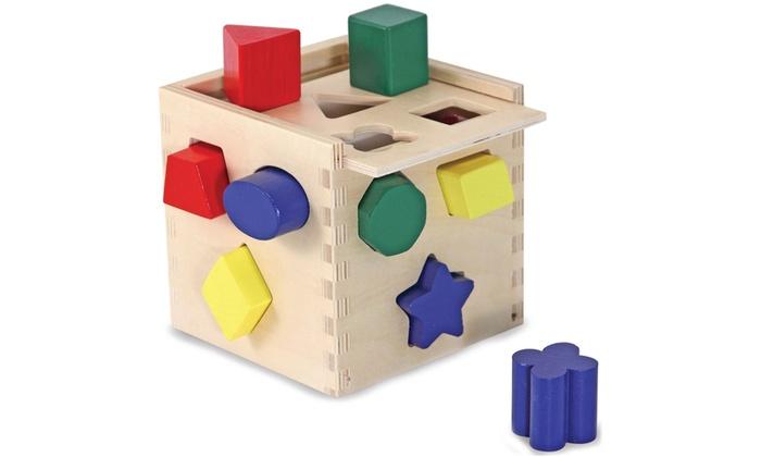Cube De Tri Et Marteler En Bois Groupon