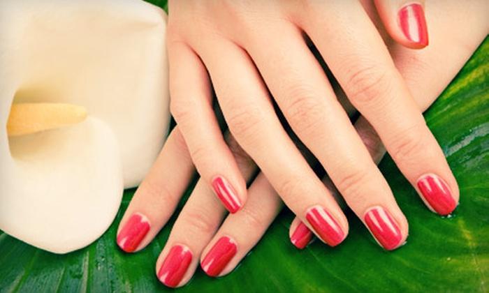 Salon Zen - Warrington: Gel Manicure, Girl on the Go Mani-Pedi, or Zen Mani-Pedi with Hand Paraffin and Foot Massage at Salon Zen in Warrington (Up to 60% Off)