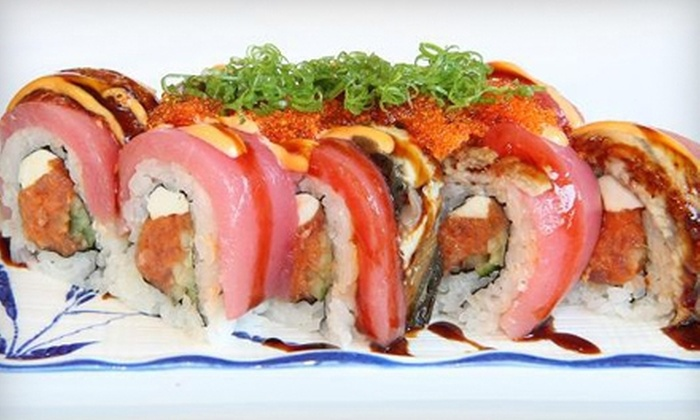 FuruSato Sushi Japanese Restaurant - Campbell: $10 Worth of Sushi and Japanese Food