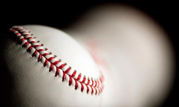 Charlie Rose Baseball - Campbell: $29 for 630 Batting-Cage Card at Charlie Rose Baseball in Campbell ($60 Value)
