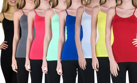 10-Pack of Long Seamless Camis