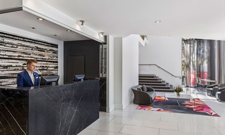Canberra: 1 Night City Break for Up to Four with Wine and Parking at Adina Serviced Apartments Canberra Dickson