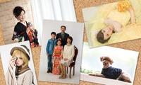 家族写真やペット、お子様のお写真など、思い出の1枚を≪30分お写真撮り放題+2データ≫ @株式会社JWP