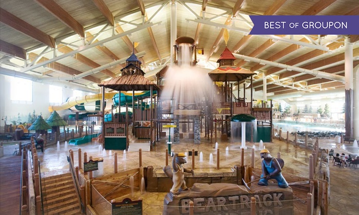 Great Wolf Lodge New England - Fitchburg, MA: Stay with Daily Water Park Passes and Resort Credit at Great Wolf Lodge New England in Fitchburg, MA. Dates into March.