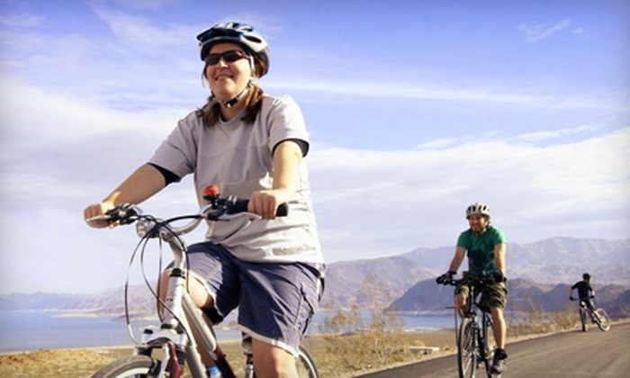 All Mountain Cyclery - Boulder City: Lake Mead and Hoover Dam Trail Bike Tour for One, Two, or Four from All Mountain Cyclery in Boulder City (Up to 63% Off)