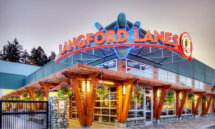Langford Lanes - Langford Lanes: Two Hours of Bowling for Up to 5 or 10 with Shoe Rental and Snacks at Langford Lanes (Up to 77% Off)