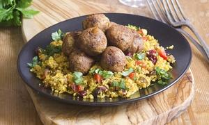 Dziupla: Kuchnia wegańska i wegetariańska: Zupa i danie głowne dla 2 osób za 49,99 zł i więcej w restauracji Dziupla w Sopocie