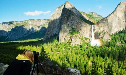 $75 for a Yosemite Nature Photography Class with YExplore ($150 Value). Three Class Topics Available.