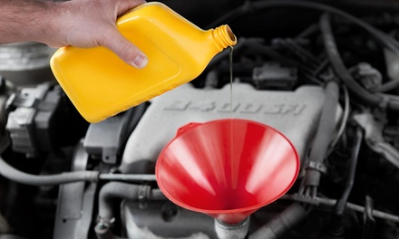 $19 for an Oil Change, Fluid Top-Off, Tire Rotation, and 27-Point Inspection  ($63 Value)
