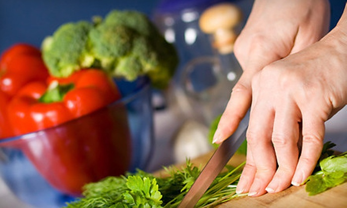 Nature's Table Cooking School - Columbine Knolls South: Healthy-Cooking Class with Complimentary Glass of Wine for Two or Four at Nature's Table Cooking School (Up to 55% Off)