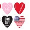 18-Pack of Chromacast Heart-Shaped Guitar Picks