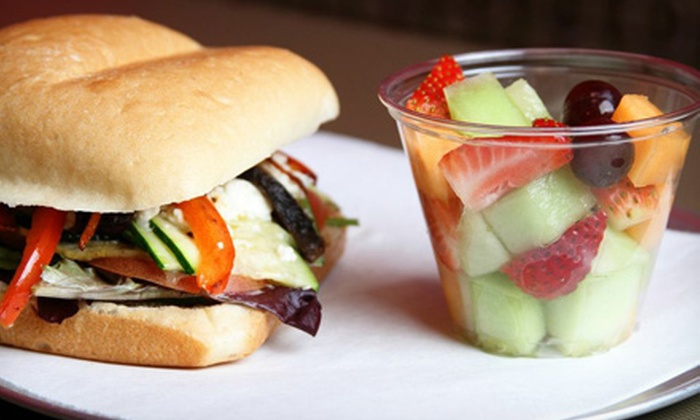 Fruit Fusionz - Far North Central: $10 for $20 Worth of Sandwiches, Wraps, Smoothies, and Drinks at Fruit Fusionz