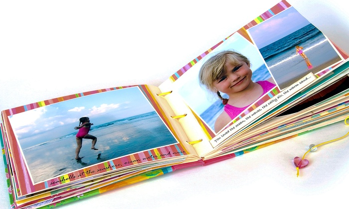 """My Precious Pages - Palm Beach: 8"""" x 8"""" or 11"""" x 9"""" Scrapbooks from My Precious Pages (Up to 58% Off)"""